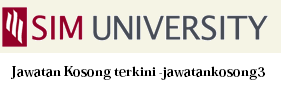Jawatan Kosong SIM University