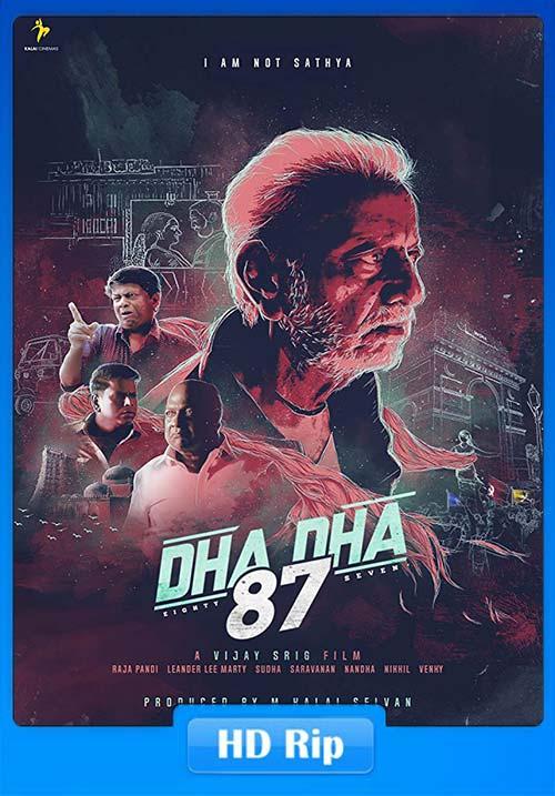 Dha Dha 2019 720p HDRip Tamil Hindi Audio x264   480p 300MB   100MB HEVC