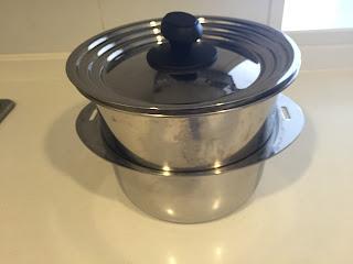 十徳鍋 蒸し器 重ねる