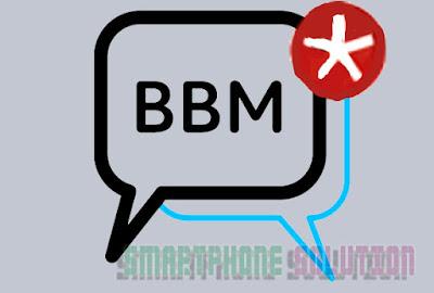 cara atasi bbm tidak ada notifikasi