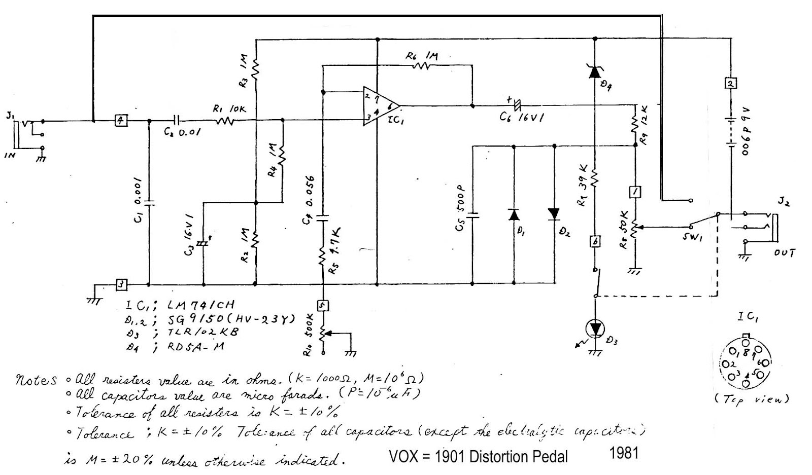 wiring diagram guitar pedal cooling fan relay stompboxed the builders repository june 2012