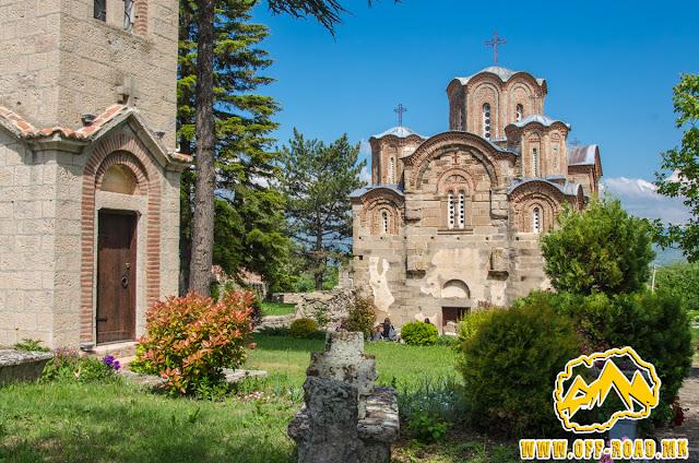 St. George church - Staro Nagorichane - frontal view
