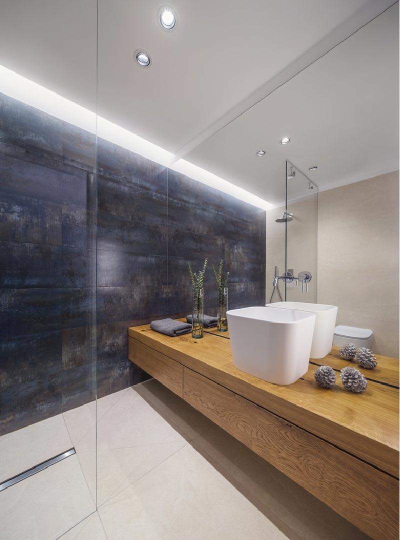un progetto di interior design nel segno della materialità