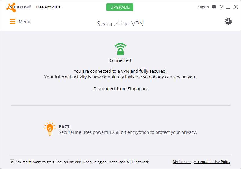 avast secureline vpn 2018 + activation key licence