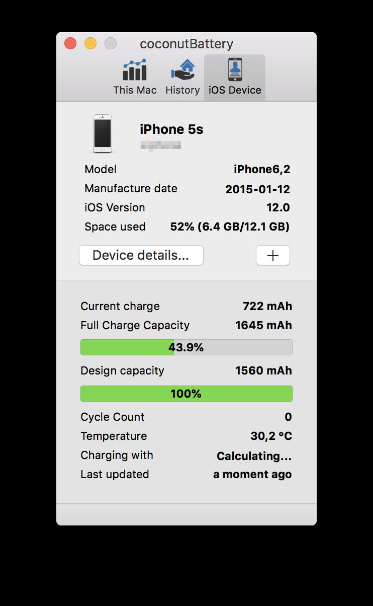 Come visualizzare i cicli della batteria dell'iPhone