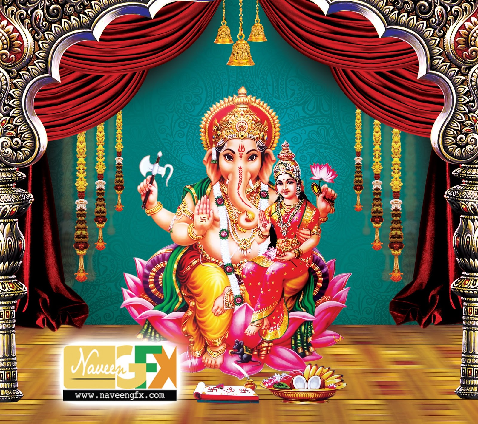 lord ganesh hd psd poster template free downloads naveengfx