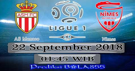 Prediksi Bola855 AS Monaco vs Nimes 22 September 2018