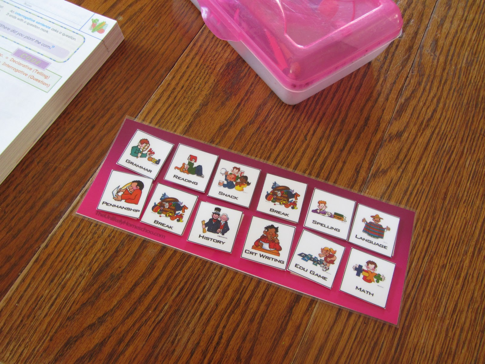 graphic relating to Free Printable Task Cards known as The Not likely Homeschool: Endeavor Playing cards