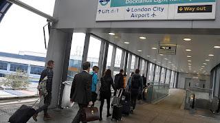 L'aéroport de Londres-City encore fermé lundi soir
