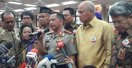 Didukung Advokat Pancasila, Kapolri Mengaku Terkejut
