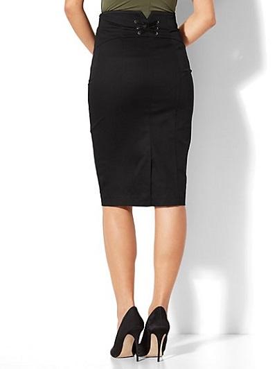 model rok untuk orang gemuk