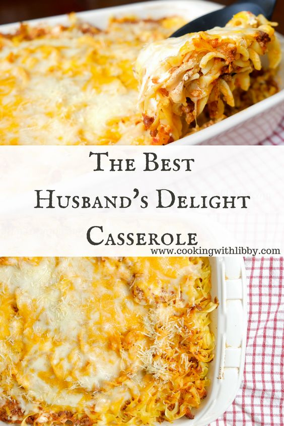 THE BEST HUSBAND'S DELIGHT CASSEROLE #CASSEROLE #LASAGNA #COMFORTFOOD #MAINCOURSE #AMERICAN