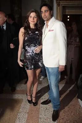 Kanika with ex-husband Raj Chandok