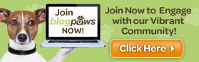 We're Members of the BlogPaws Community