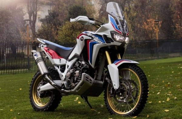 Honda Africa Twin A Original Skyrocket Motorcycle