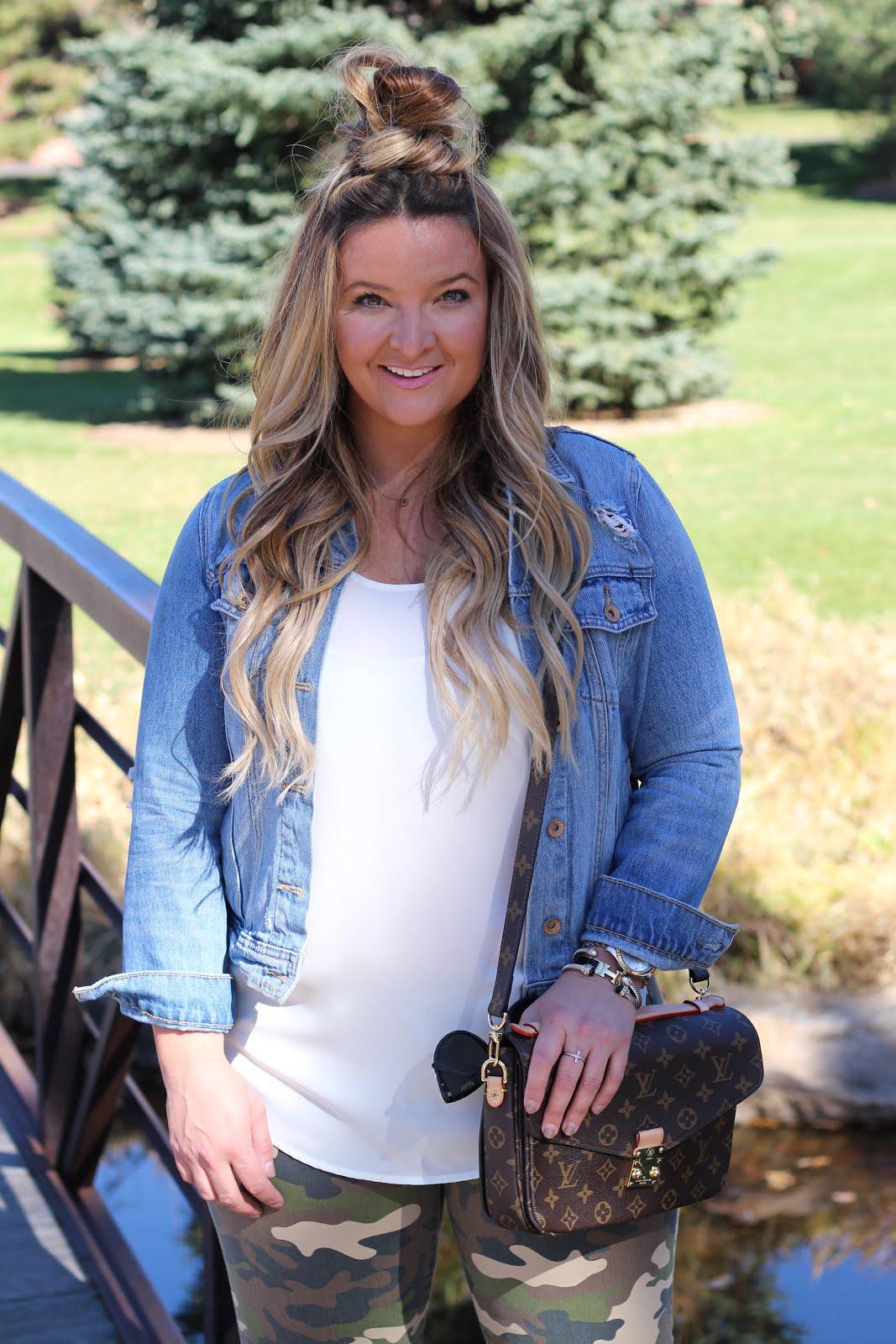 Camo Pants for women by Denver fashion blogger Delayna Denaye
