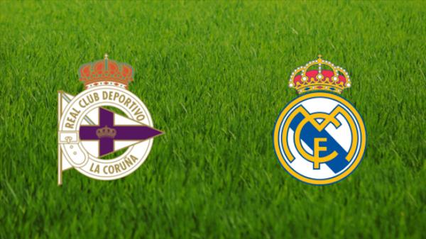 Ver en directo el Deportivo de la Coruña - Real Madrid