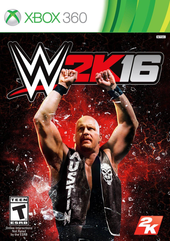 WWE 2K16 ESPAÑOL XBOX 360 Cover Caratula