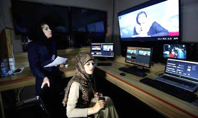Kabul, Afganistan, Zan TV, Women's TV, TV channel dedicated to women, female presenters, broadcasting in Afghanistan