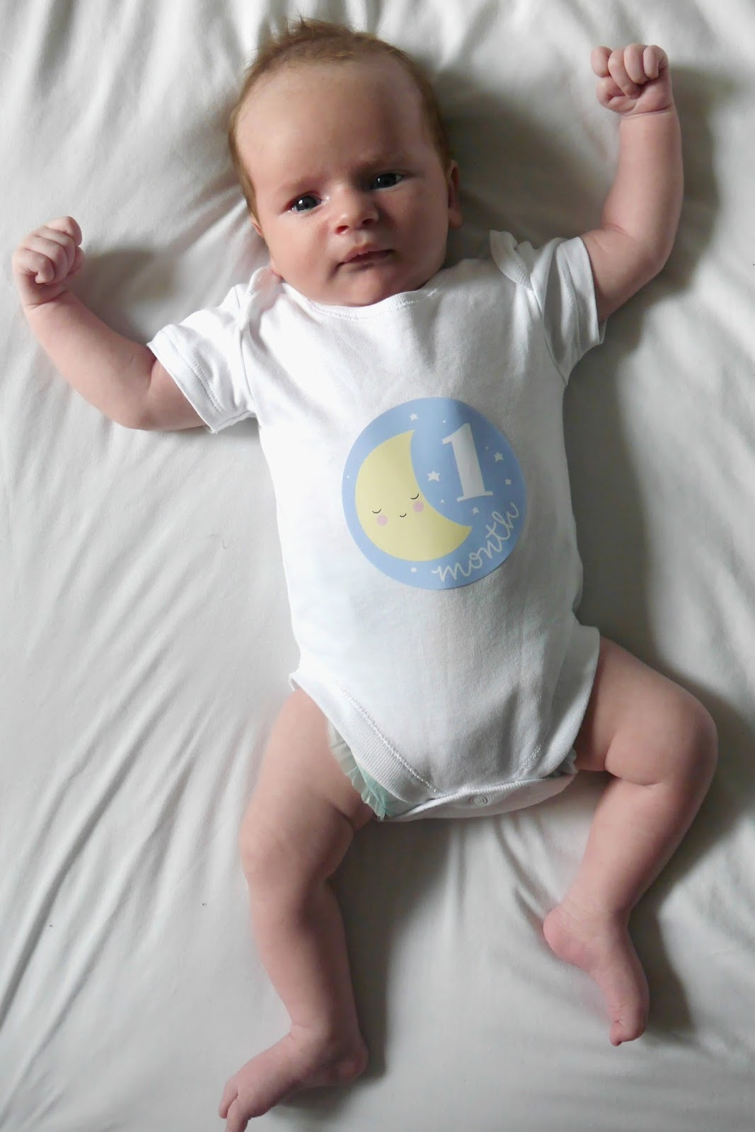 DEAR LUCAS: YOU ARE ONE MONTH OLD!