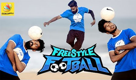 Chennai free style Footballers broke Guinness Records | Amazing Stunts