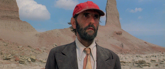 Harry Dean Stanton dans Paris, Texas réalisé par Wim Wenders (1984)