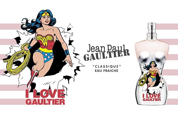 Jean Paul Gaultier Classique Wonder Woman Eau Fraiche