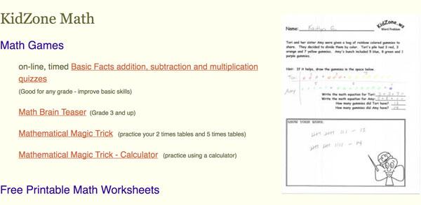 Juegos online, fichas para imprimir, trucos y mucho más para aprender a usar las operaciones matemáticas básicas en inglés