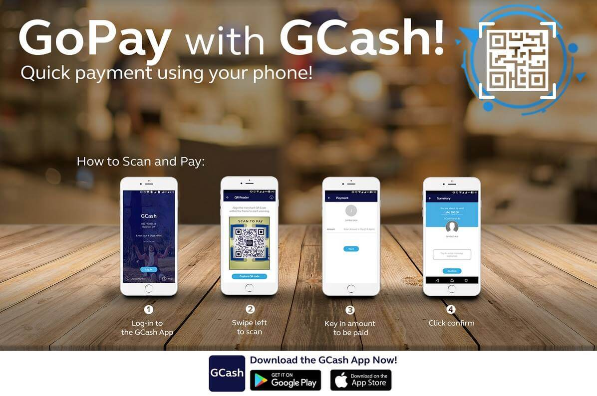 GCash Launches Country's 1st Mobile Money QR Payment Dubbed As GoPay