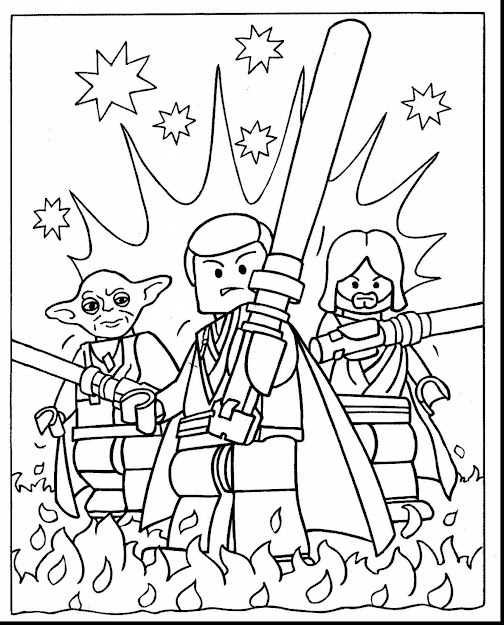 Brilliant Lego Star Wars Coloring Pictures To Print With Lego Movie  Coloring Page And Lego Movie