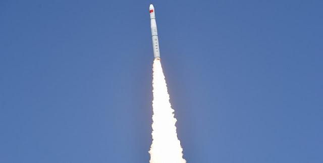 Long March 11 launch. Photo Credit: Xinhua / Wang Jiangbo