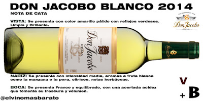 nota de cata Don Jacobo Blanco 2014