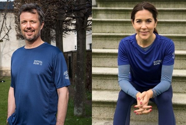 On the occasion of 50th birthday of Crown Prince Frederik of Denmark, Crown Princess Mary will attend a 10 kms race in Odense.