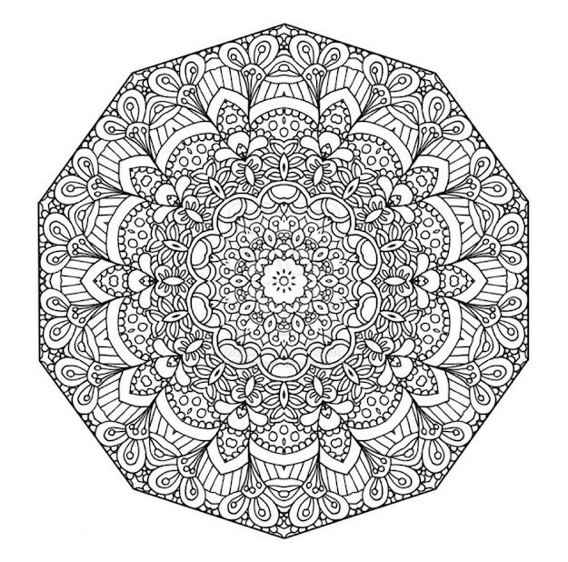 Mandala Coloring Pages  Images About Coloring Pages On Pinterest Coloring  Mandala Coloring Pages Of Animals