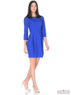 vestidos color azul juveniles