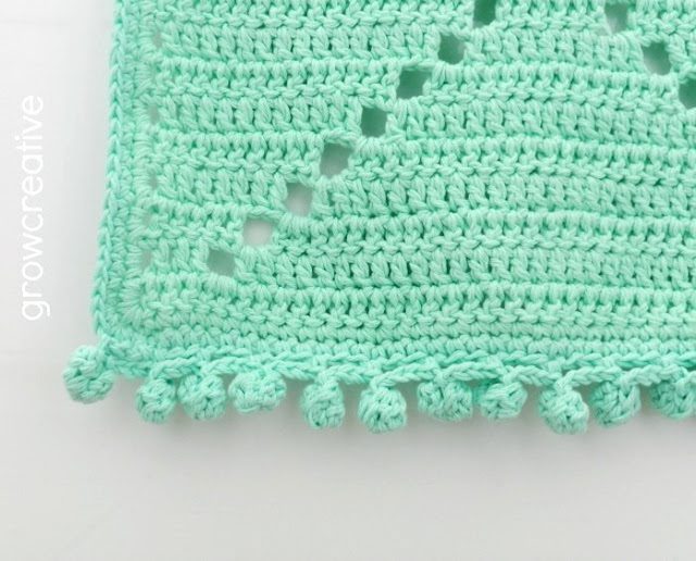 Mint Aztec Rug in Crochet: Grow Creative Blog