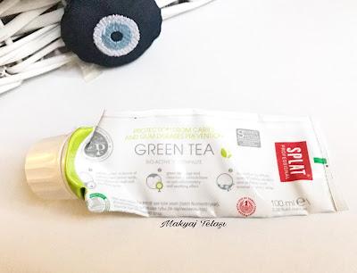 splat yeşil çaylı diş macunu