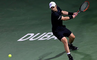 Andy Murray crushed Guillermo Garcia-Lopez to reach Dubai quarter-finals
