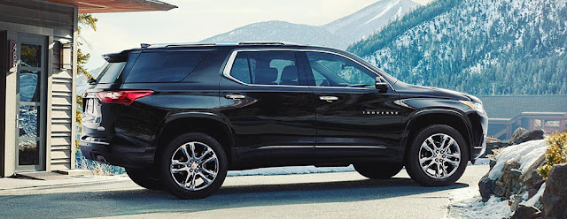 2018 Chevrolet Traverse - A Fresh Take On Mid-Size SUVs