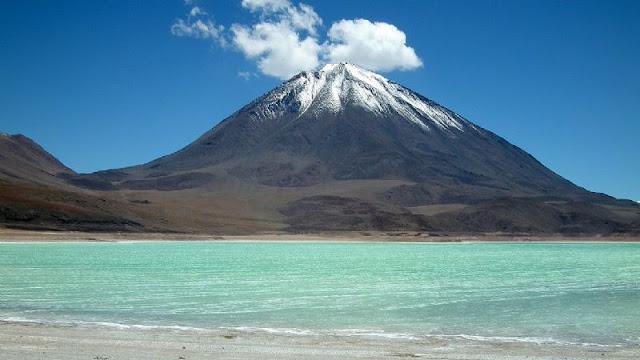 Laguna Verde no Chile