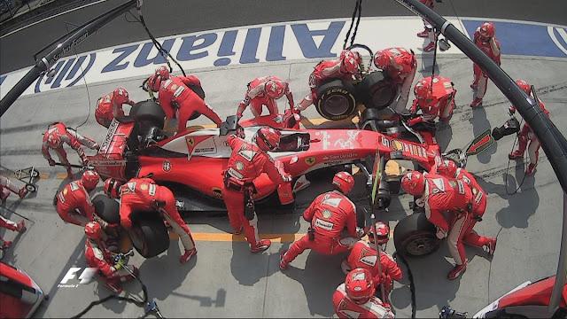 F1 Ferrari, Vettel Kimi Raikkonen Hungaria