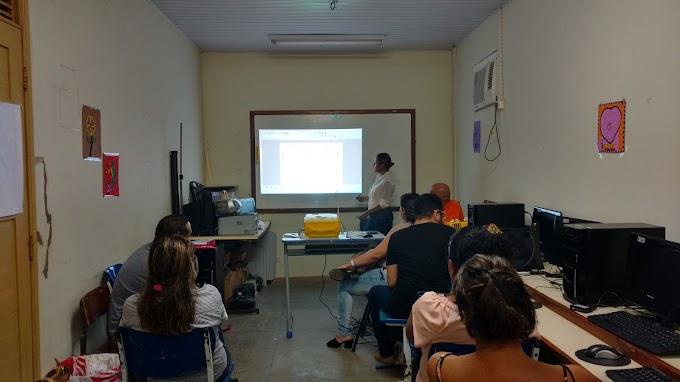 NTE na escola Antonio Teixeira Gueiros