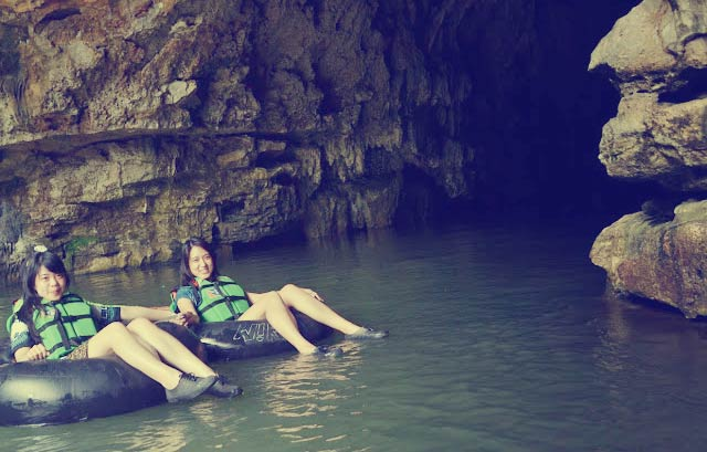 Cave Tubing at Goa Pindul