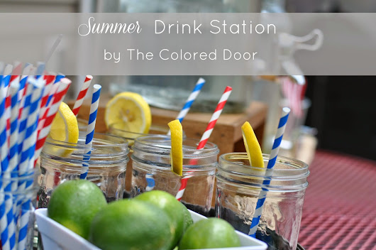 Summer Drink Station
