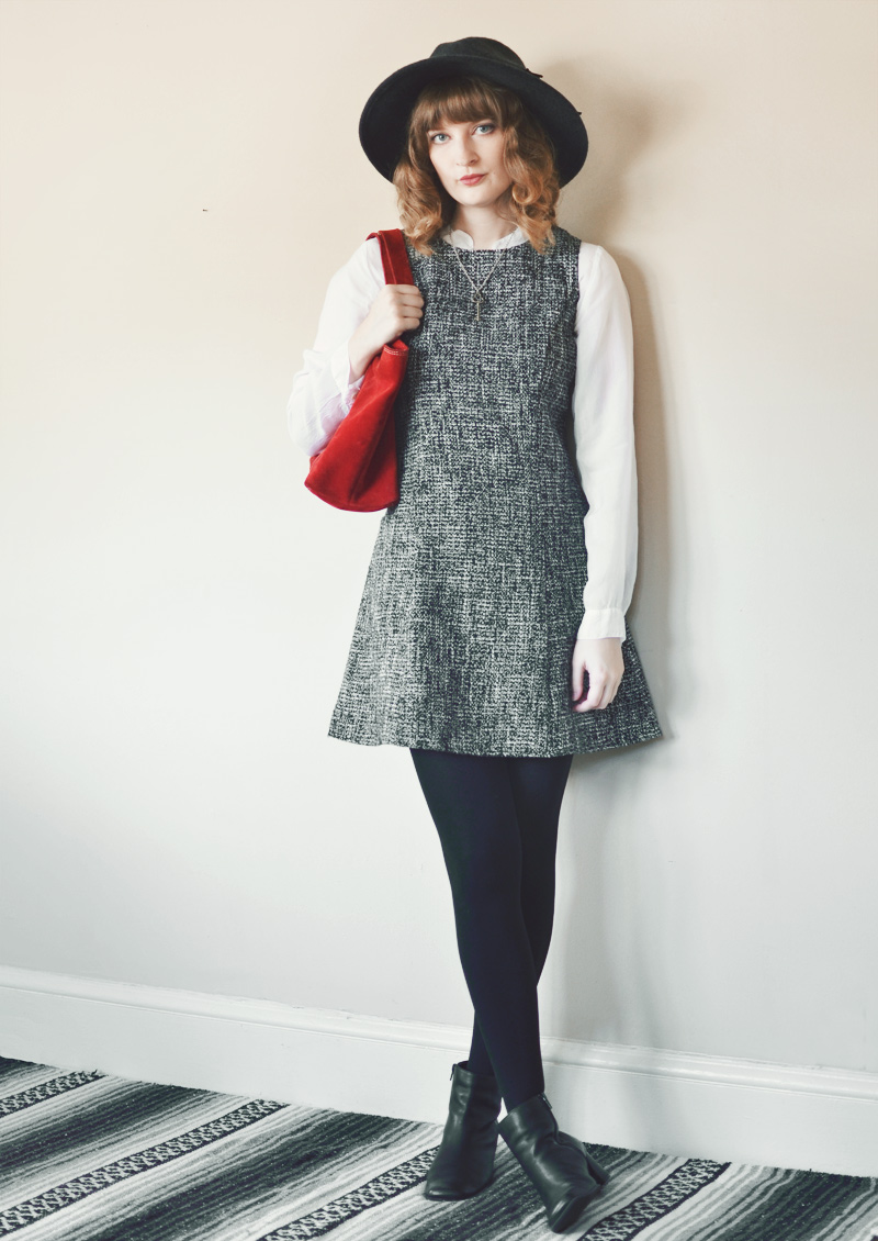 The Flying Clubhouse: Tweed | Jumper Outfit