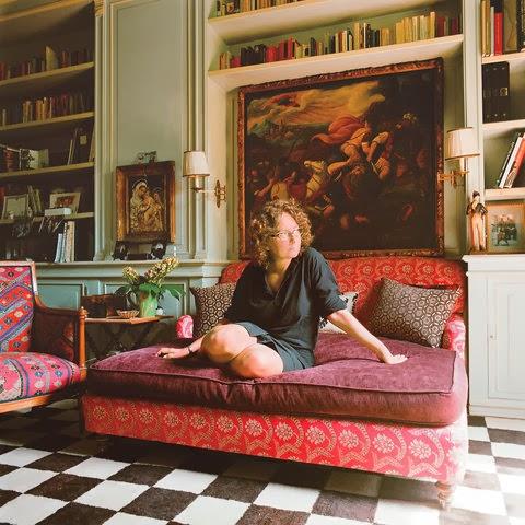 Idarica Gazzoni Italian Fabric designer