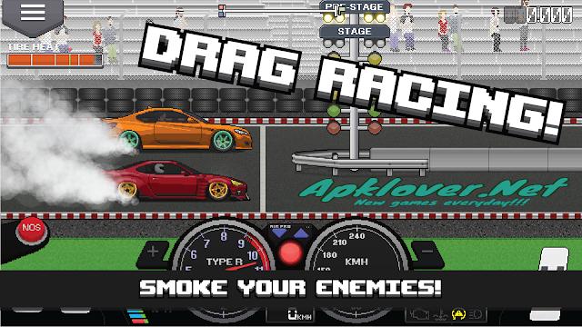 Pixel Car Racer MOD APK unlimited money