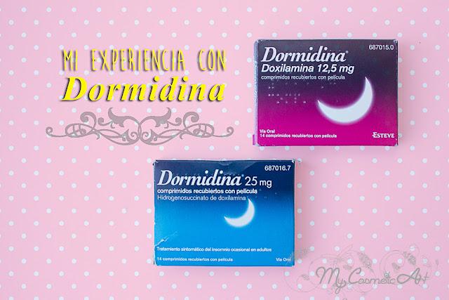 Mi experiencia con Dormidina.
