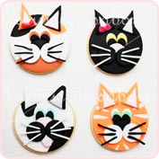 Galletas gatos