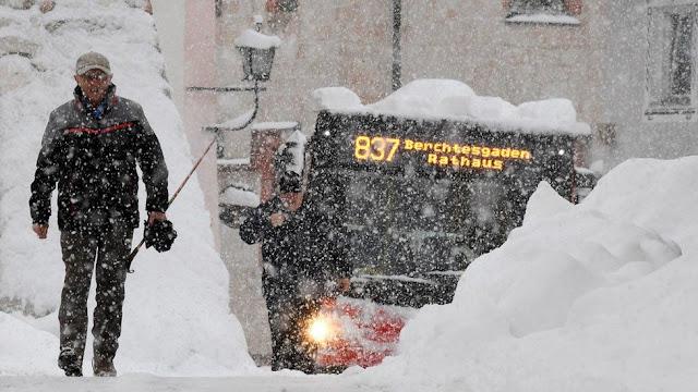 Снігопад Баварія